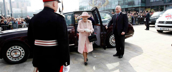 Queen Elizabeth Officially Opens Media City Uk - William Hare News