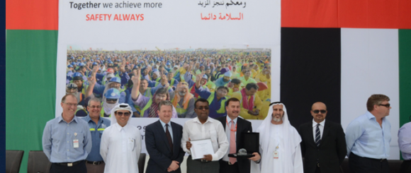 UAE Safety Record for Emal Celebrated