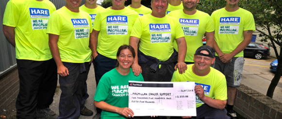 Team Raise Money for Macmillan Cancer Support - William Hare News