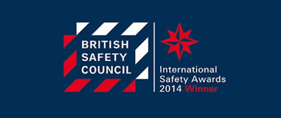 British safety council award winner 2014