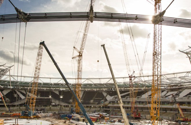 William Hare - Sports, Leisure & Arts - Olympic Stadium Roof Conversion - William Hare