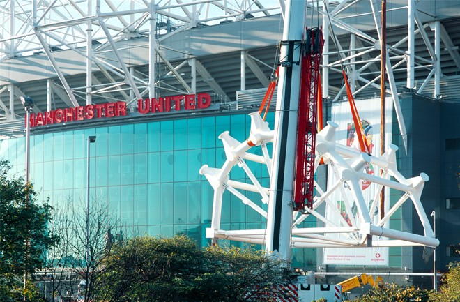 William Hare - Sports, Leisure & Arts - Manchester United - East Wing