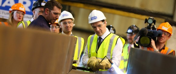 William Hare - George Osborne Visits