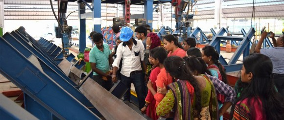 William Hare India - fabrication facility visit