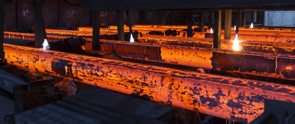 Steel Production by British Steel